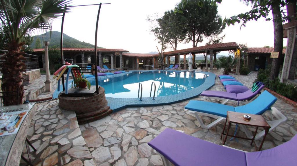 The swimming pool at or near Atilla's Getaway