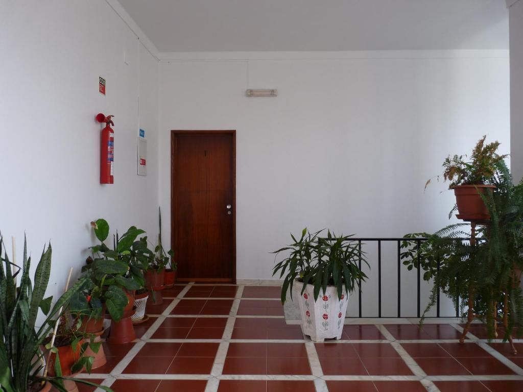 The lobby or reception area at Residencial o Bras