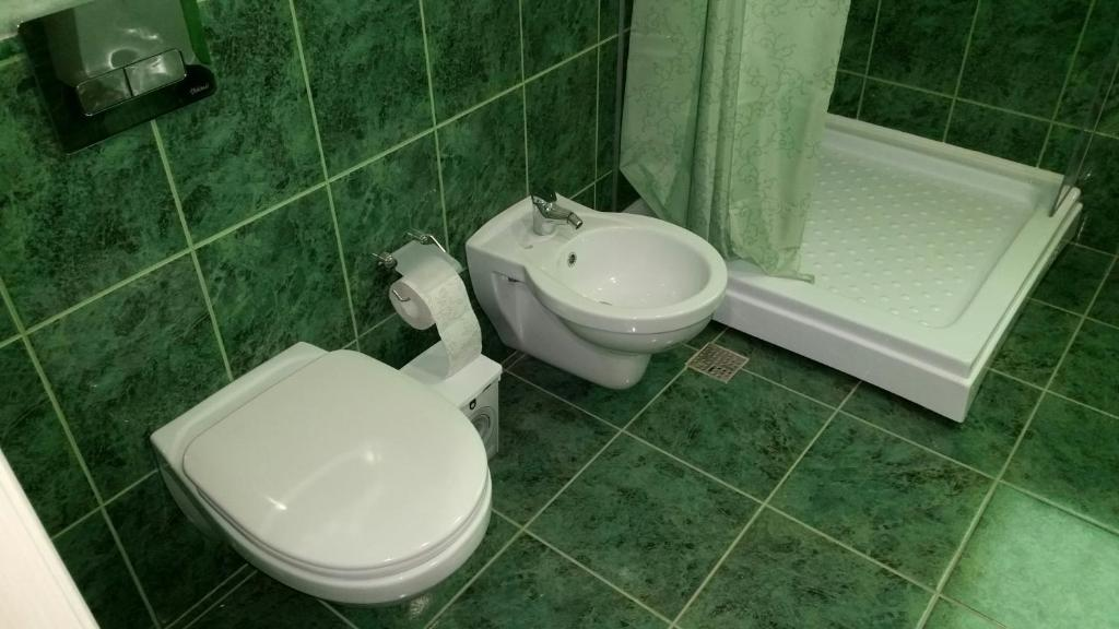 Ванная комната в Apartments on Sadovoe Koltso 1
