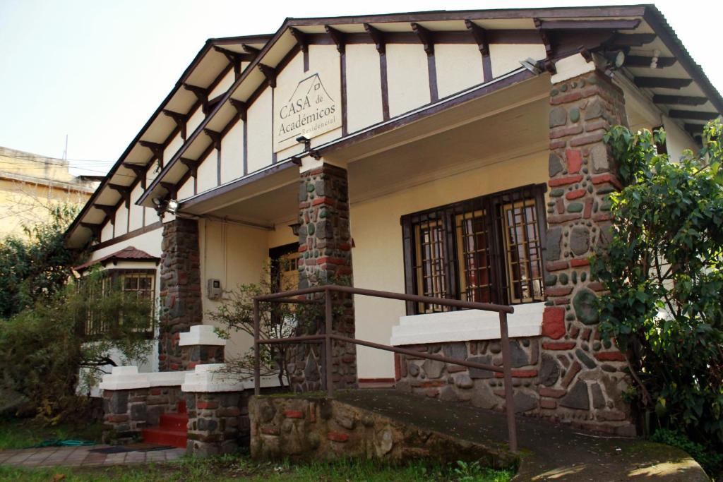Un patio o zona al aire libre en Casa de Academicos