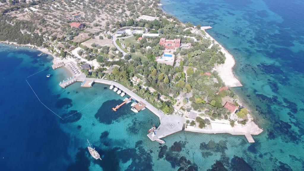 Гледка от птичи поглед на Oliviera Resort