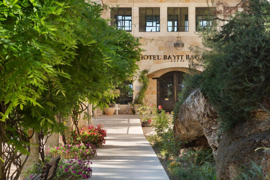 The facade or entrance of Bayit Bagalil Boutique Hotel by Herbert Samuel