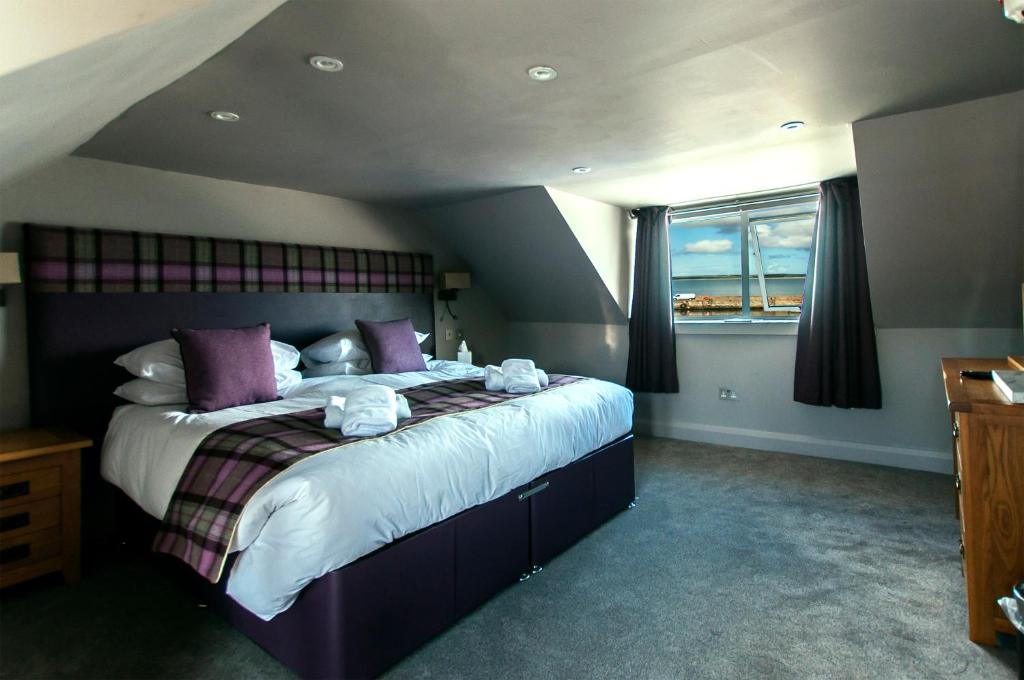 A room at Lochside hotel