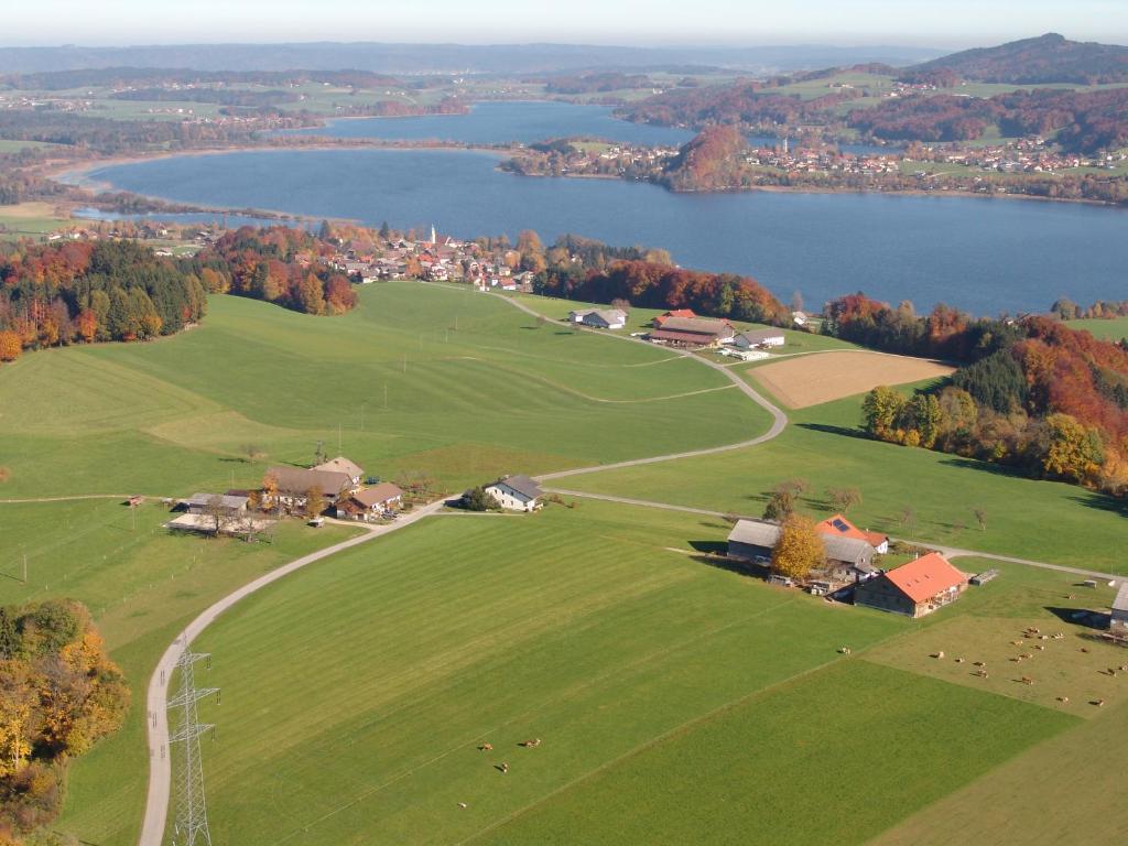 A bird's-eye view of Baby- und Kinderhof Aicherbauer