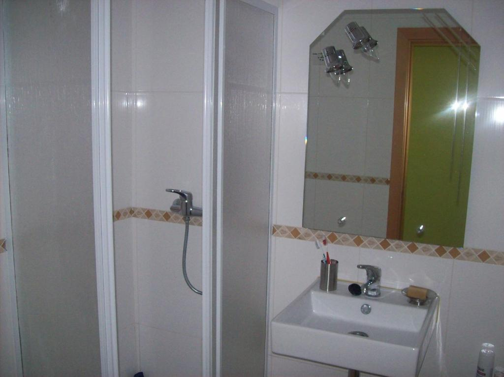 A bathroom at Apartamento Turistico Arminda Rodrigues