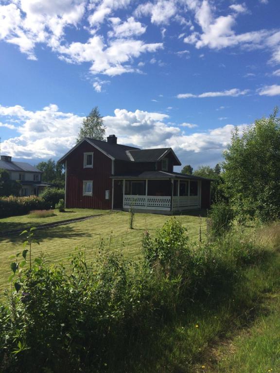 A garden outside Klarälven