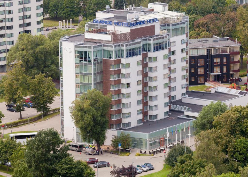 A bird's-eye view of Riga Islande Hotel