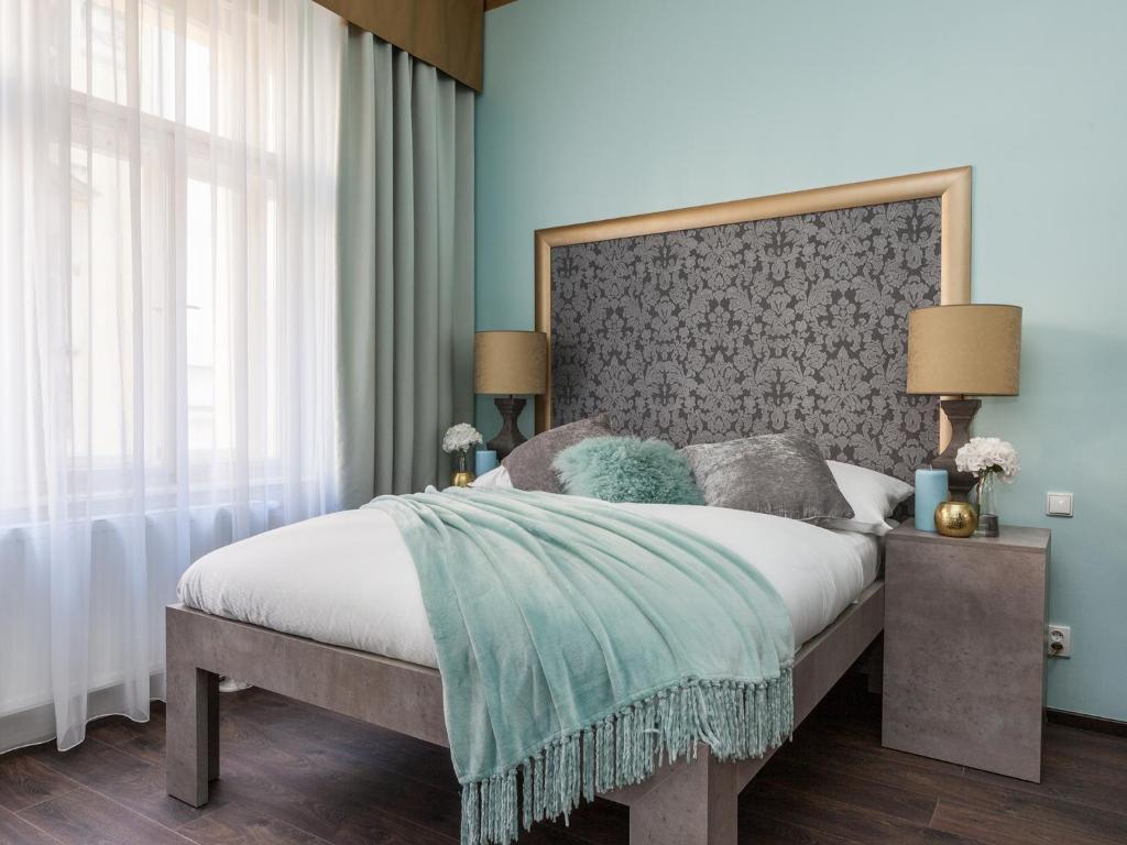 Ein Zimmer in der Unterkunft Gorgeous Prague Rooms
