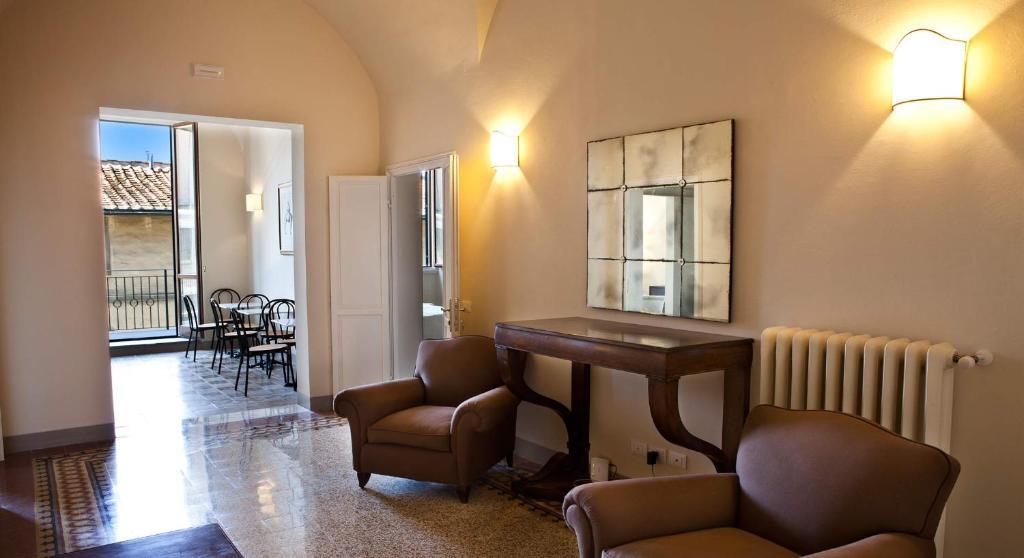 A área de bar ou lounge em Il Dromedario
