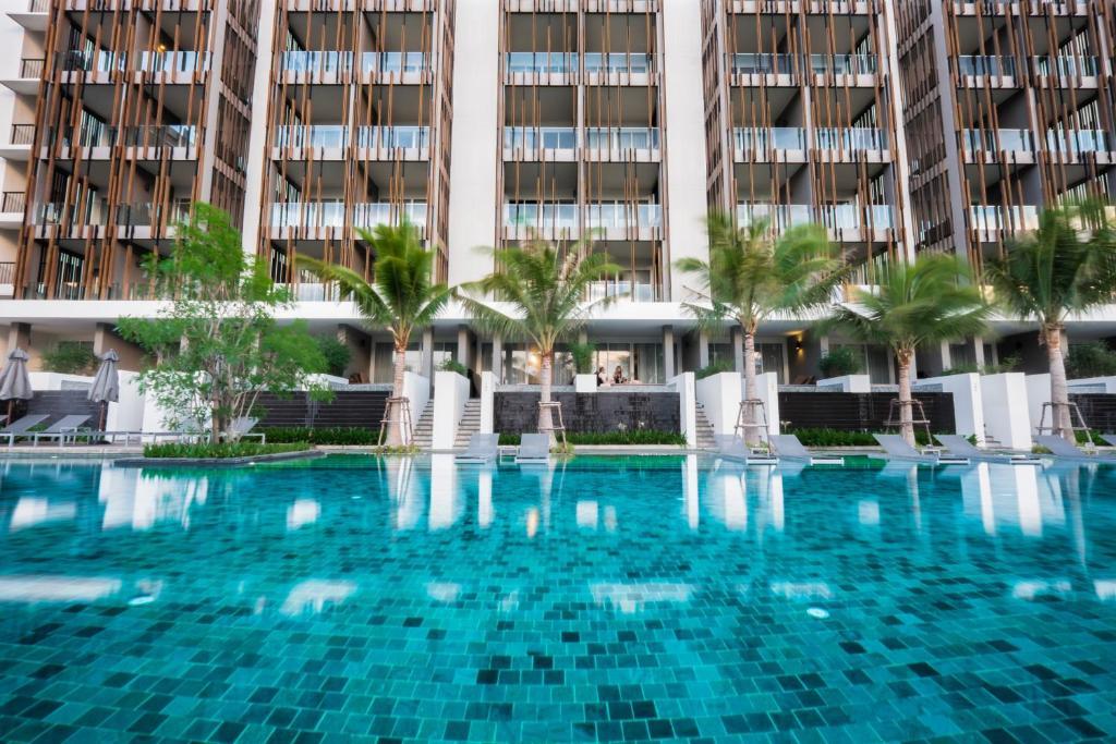 The swimming pool at or near G Hua Hin Resort & Mall