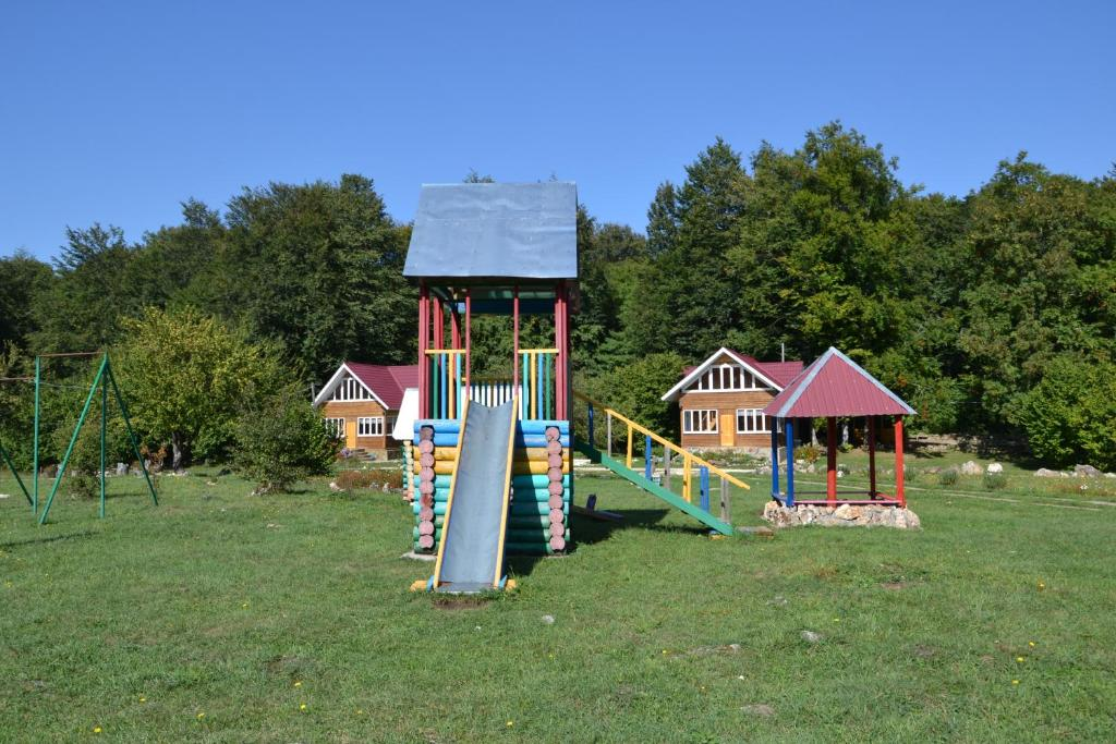 Children's play area at Zvezdnaya dolina