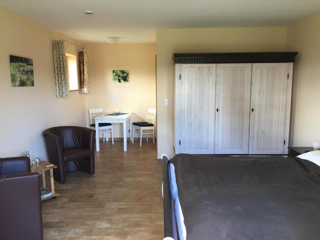 Lounge oder Bar in der Unterkunft Hof Viehbrook GbR