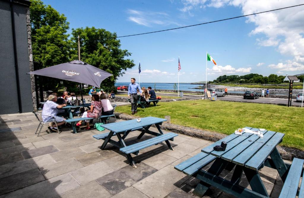 Guests staying at Burren Atlantic Hotel & Holiday Village