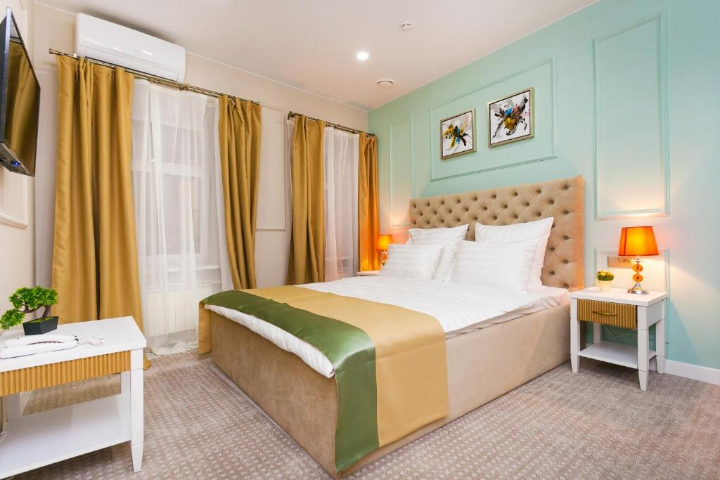 A room at Stoleshnikov Boutique Hotel