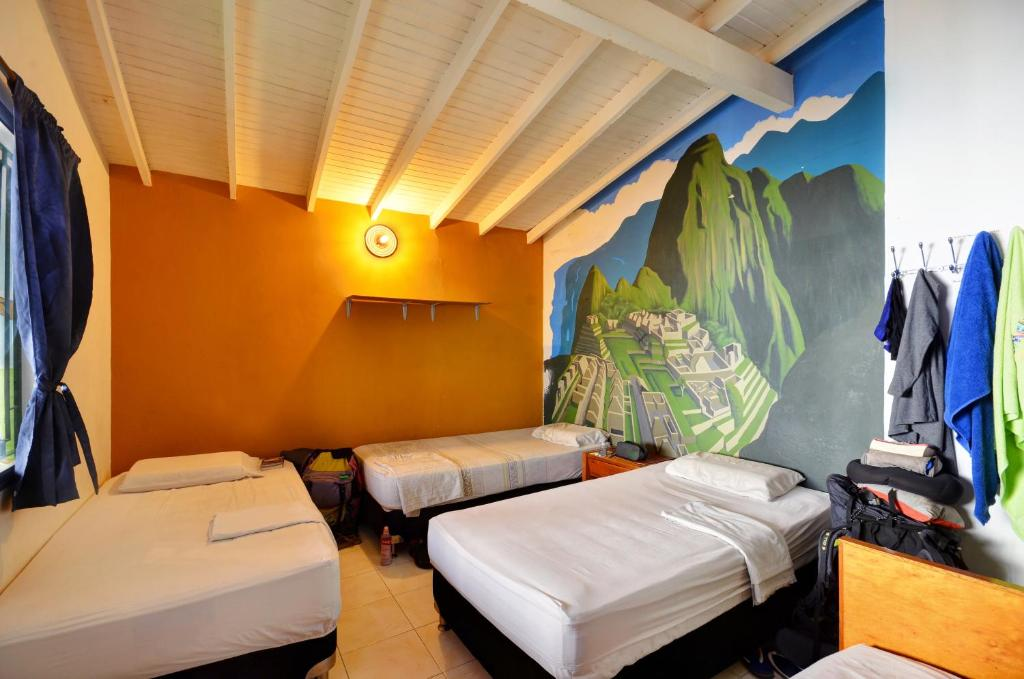 A room at The Wandering Paisa