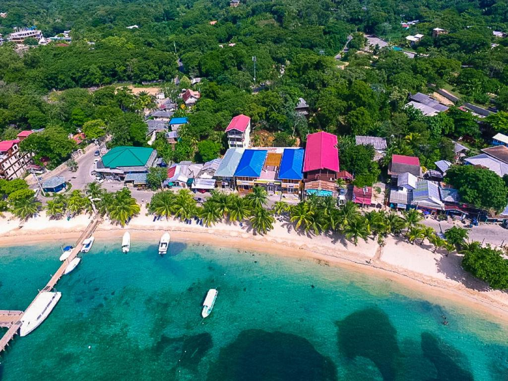 A bird's-eye view of Mr. Tucan Hotel