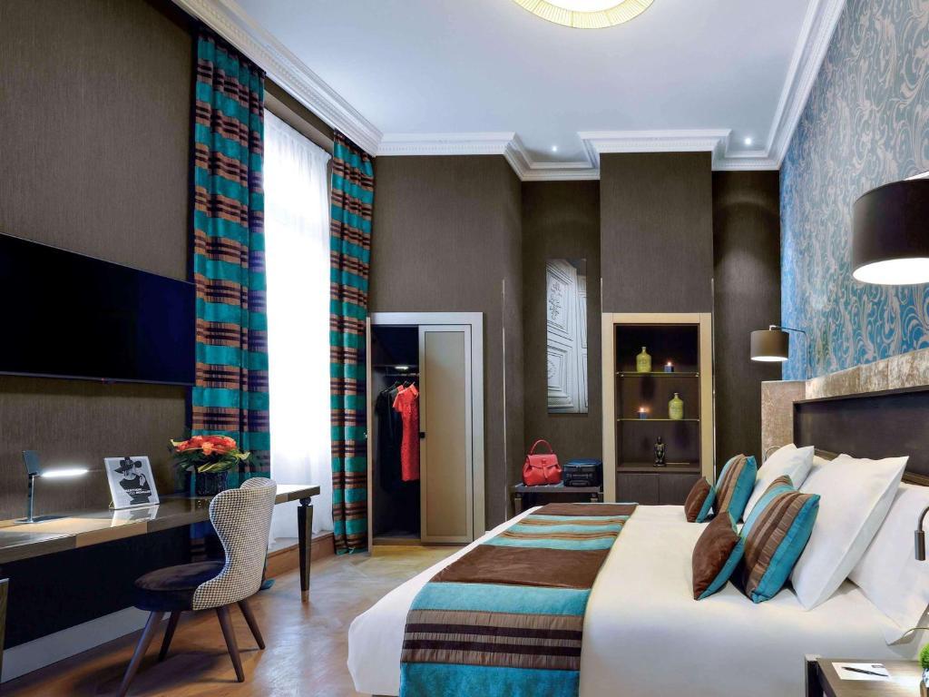 منطقة الاستقبال أو اللوبي في La Cour des Consuls Hotel and Spa Toulouse - MGallery