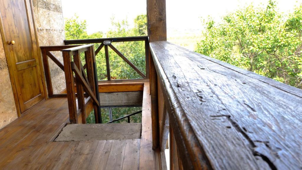 Балкон или терраса в Hostel Voronezh