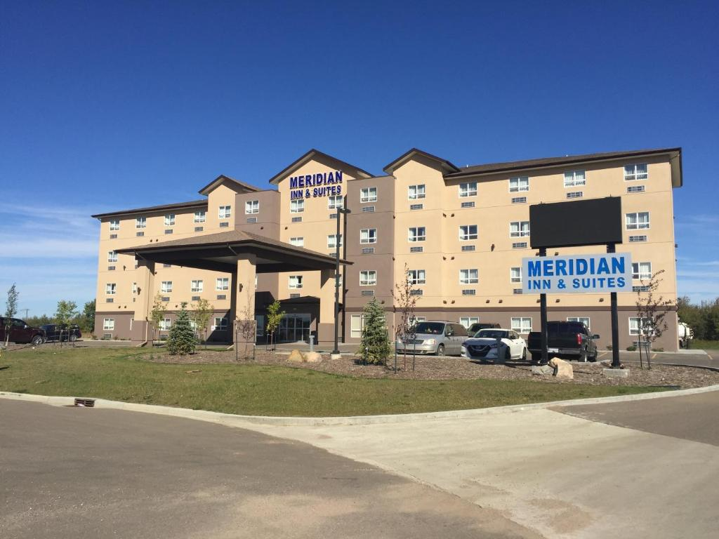 The facade or entrance of Meridian Inn & Suites