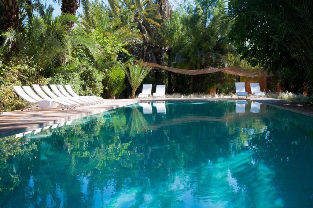 The swimming pool at or near Jnane Tamsna
