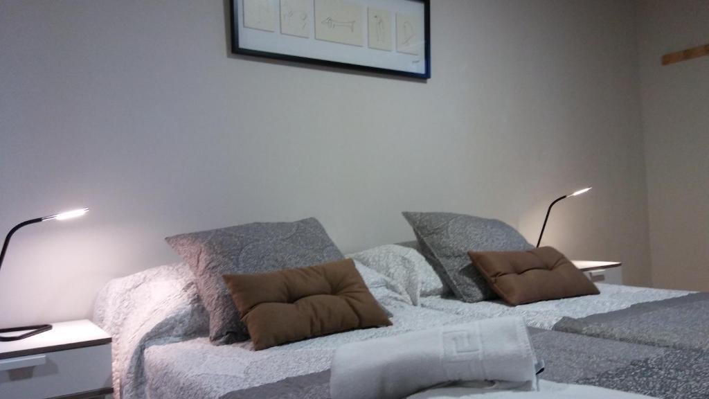 A seating area at Alma del Camino - Rooms & Albergue