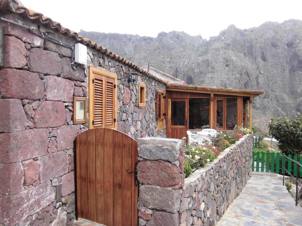 De façade/entree van Masca - Casa Rural Morrocatana - Tenerife