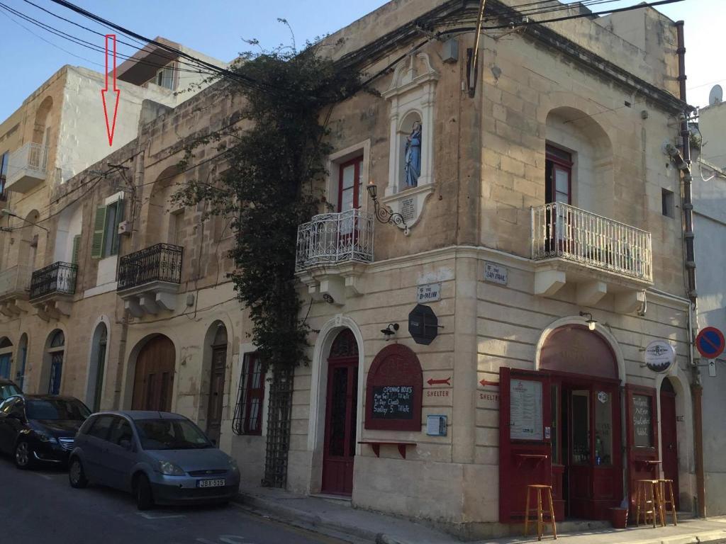 The facade or entrance of The 1930's Maltese Residence