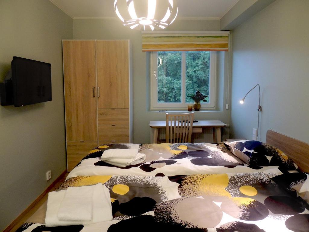 Ett rum på Hotell Munkeröd