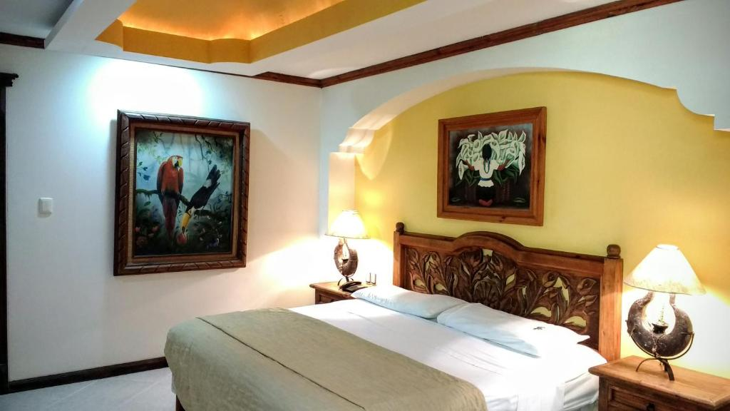 A room at Suites Flamboyanes