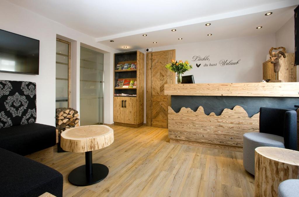 Lounge oder Bar in der Unterkunft NaturBoutique Hotel RAUSZEIT