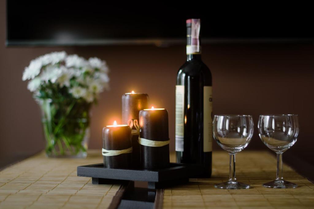 Napoje w obiekcie Apartamenty Młynowa