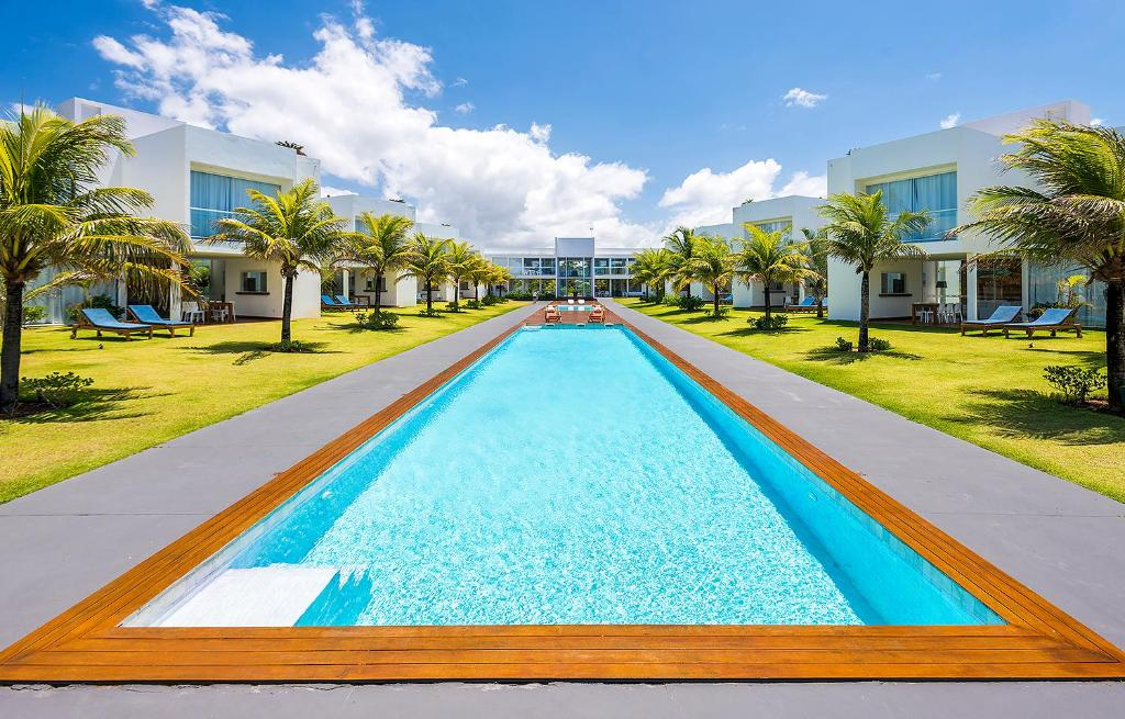 The swimming pool at or close to B Blue Beachouses