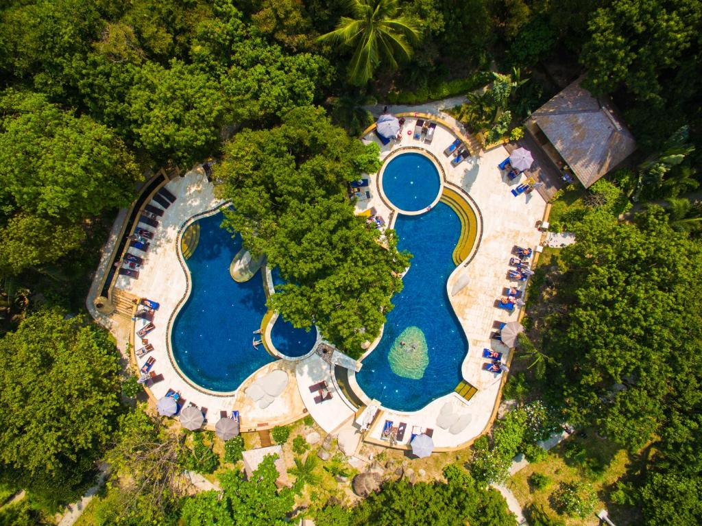A bird's-eye view of Sensi Paradise Beach Resort