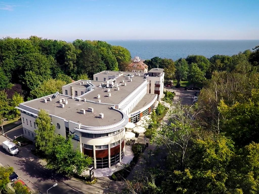 A bird's-eye view of Hotel Nadmorski