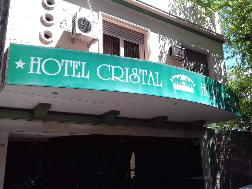 La fachada o entrada de Hotel Cristal