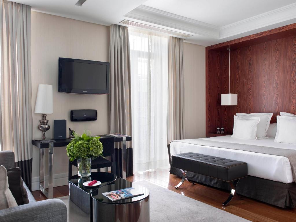 تلفاز و/أو أجهزة ترفيهية في فندق أونيكو مدريد