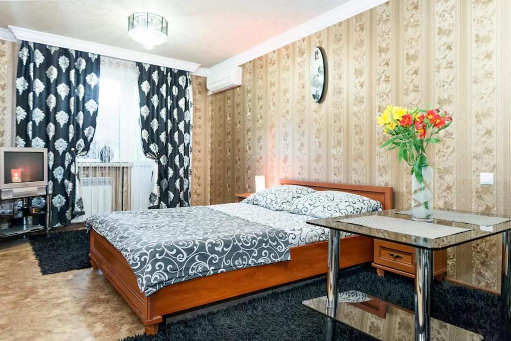 Номер в Apartment on Nezalezhnoy Ukrаiny near Intourist Hotel