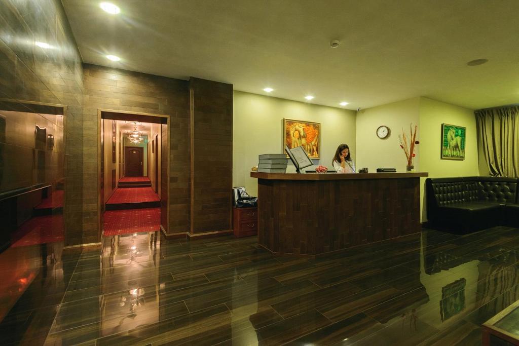 The lobby or reception area at LeonArt