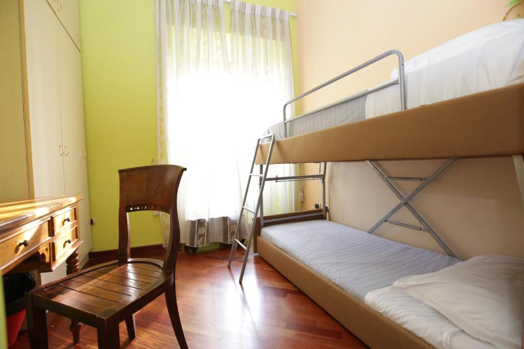 A bunk bed or bunk beds in a room at Nika Hostel