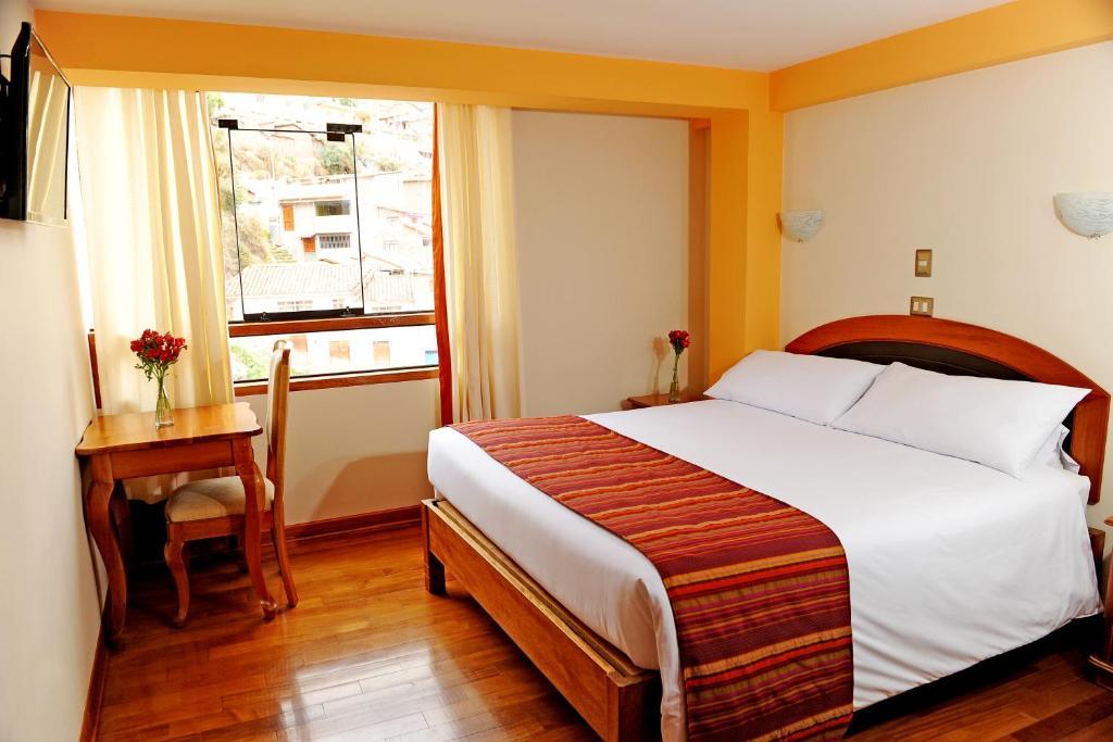 Una habitación en Cusco Hotel Cascada del Inka