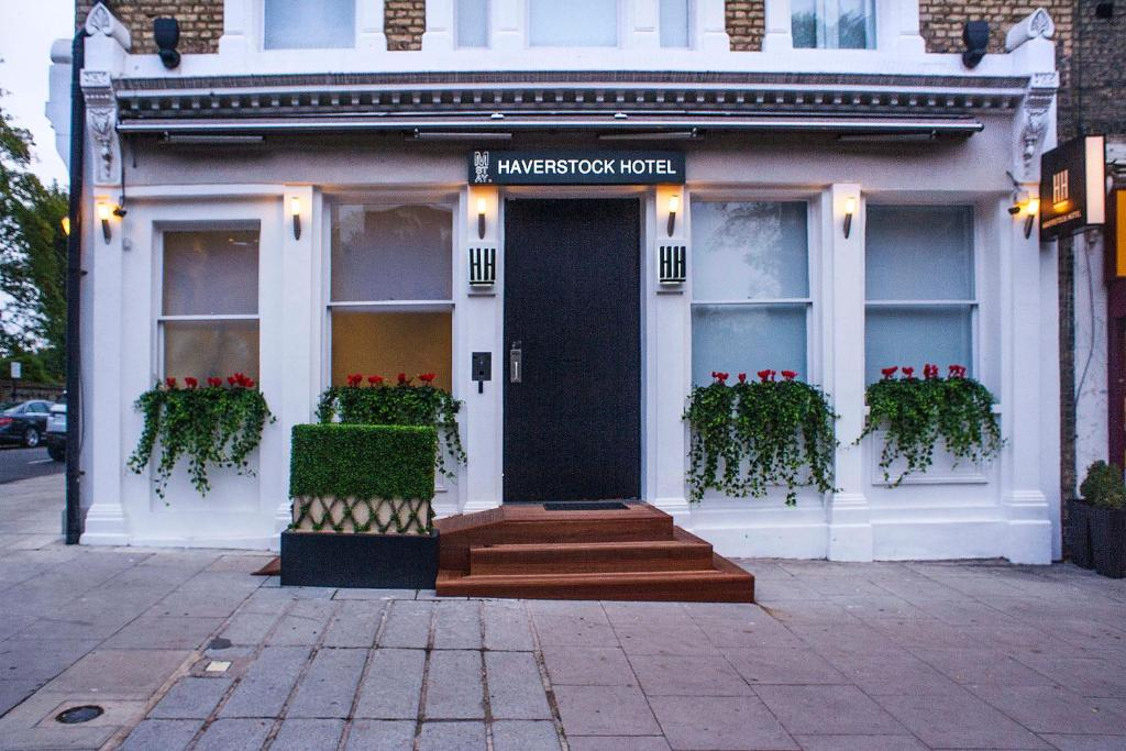The facade or entrance of Haverstock Hotel