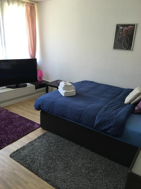 Ein Zimmer in der Unterkunft Apartments in Bern - Breitenrainplatz