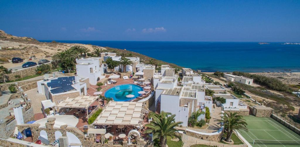 A bird's-eye view of Naxos Magic Village