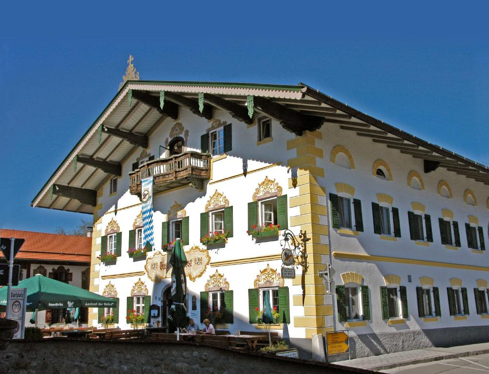 Gasthof-Hotel Zur Post Samerberg im Winter