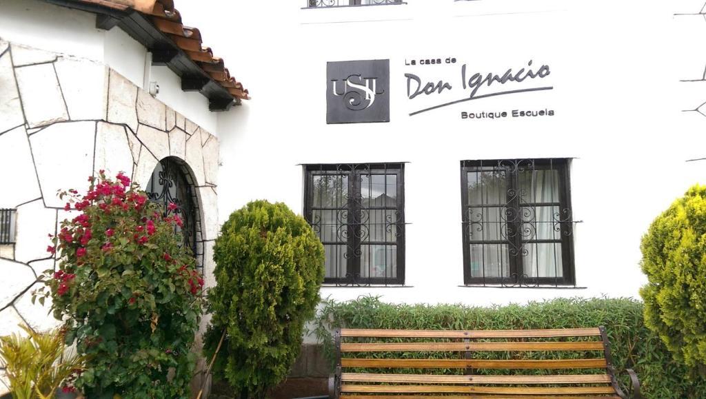 Fachada o entrada de La Casa de Don Ignacio