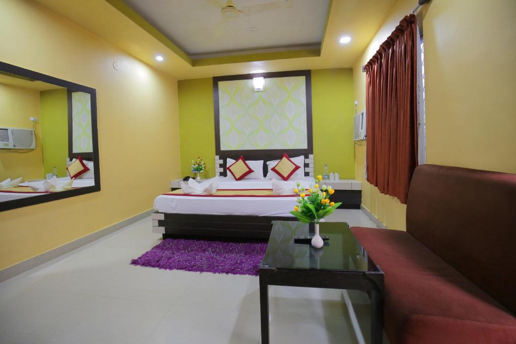 A room at Hotel Pushpa - Berries Group of Hotels