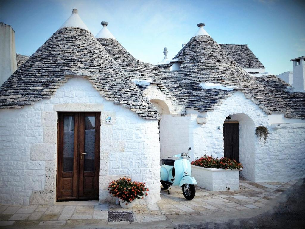 Trulli Holiday Albergo Diffuso in de winter