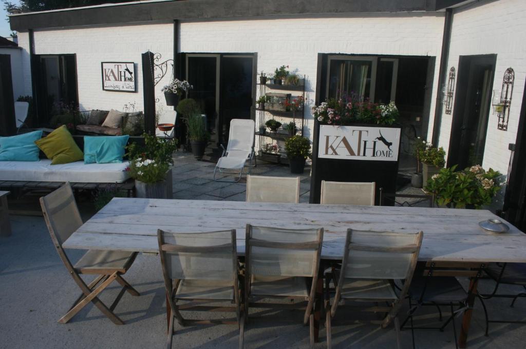 Salon ou bar de l'établissement Guesthouse Kathome