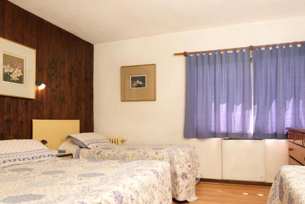 Et værelse på Hotel Antártida