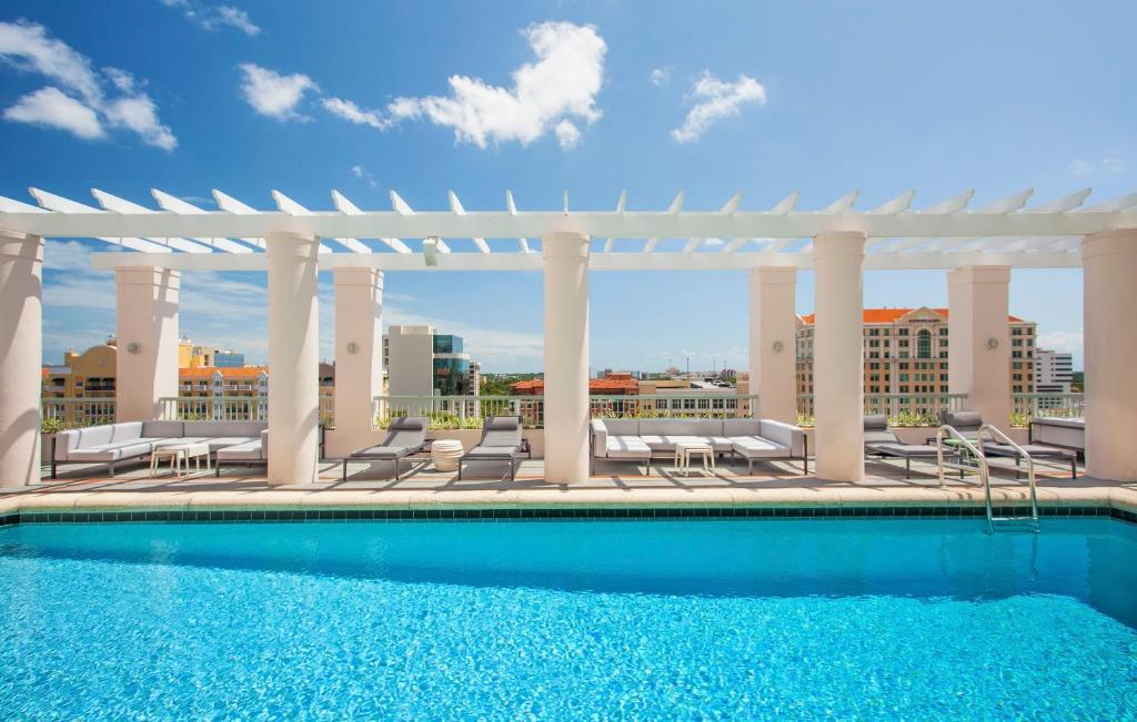 The swimming pool at or near Hotel Colonnade Coral Gables, Autograph Collection